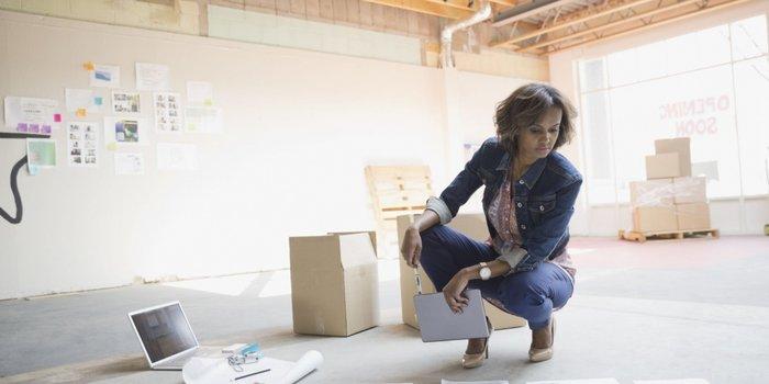 Women in new work space