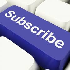 Purple subscribe button